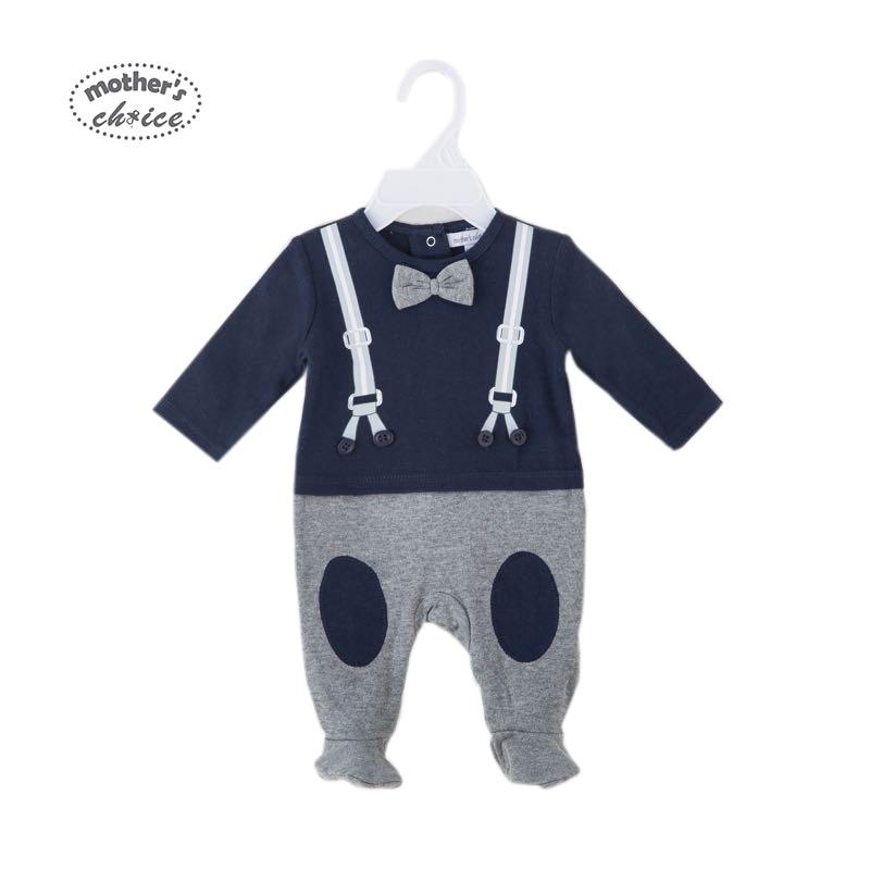 Madre's Choice Gentleman 2018 New Baby Boys Mamelucos Algodón Tie - Ropa de bebé