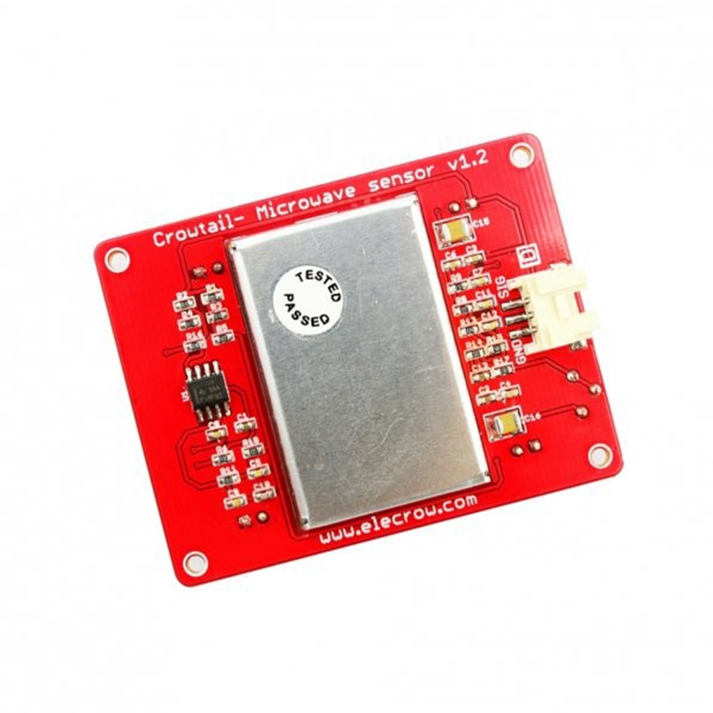 Elecrow Crowtail Microwave Sensor Module Electronics DIY Microwave Detector Moving Objects Automatic Door Control Switches Elecrow Crowtail Microwave Sensor Module Electronics DIY Microwave Detector Moving Objects Automatic Door Control Switches