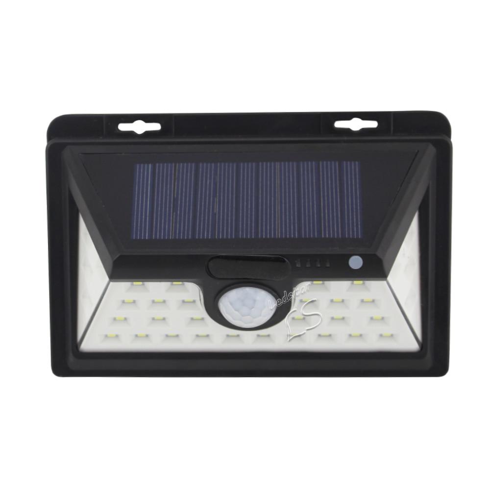 4Mode 34 LED Solar Light Outdoor Waterproof Garden PIR Motion Sensor Solar Power LED Wall Light Emergency Solar Lamp Pathway