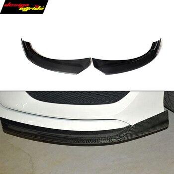 Carbon Fiber Front Rear Bumper Lip Splitters Canard for Mercedes CLA W117 C117 X117 Sports Direct Fix with screws CLA180 CLA200