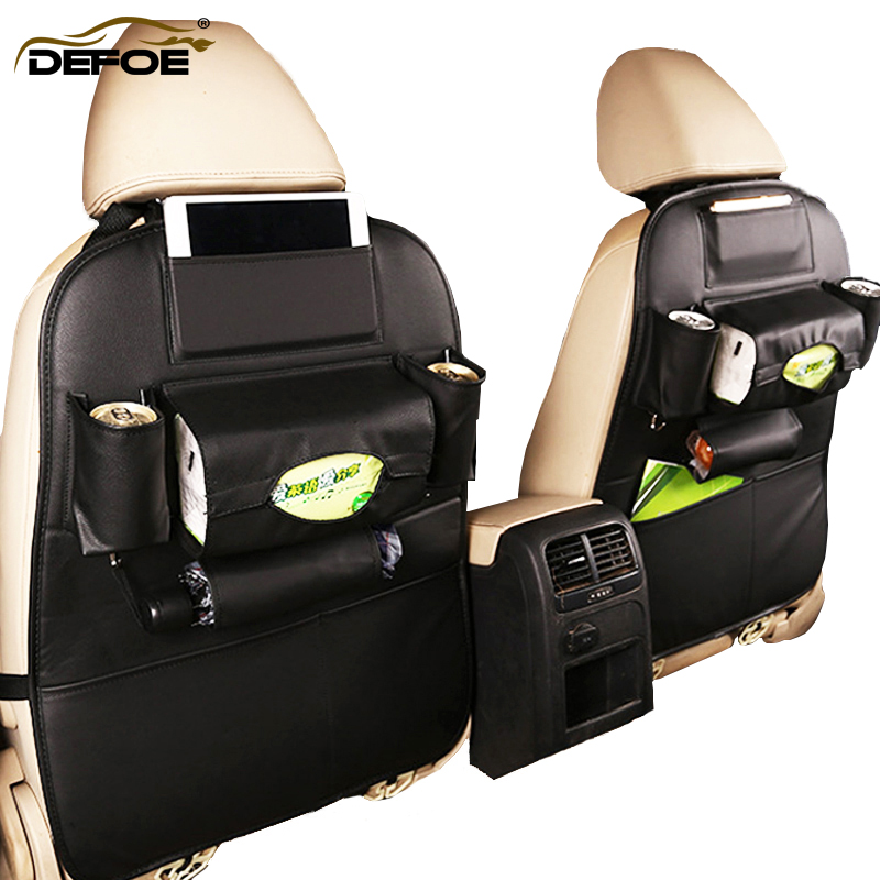 Class A car seat storage bag creative car organizer car seat cover Multifunctional seat back bag dirt-resistant easy clean