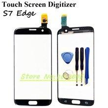 Pour Samsung Galaxy S7 Bord G935F G9350 Écran Tactile Digitizer Lentille En Verre Remplacement Pour Samsung S7Edge
