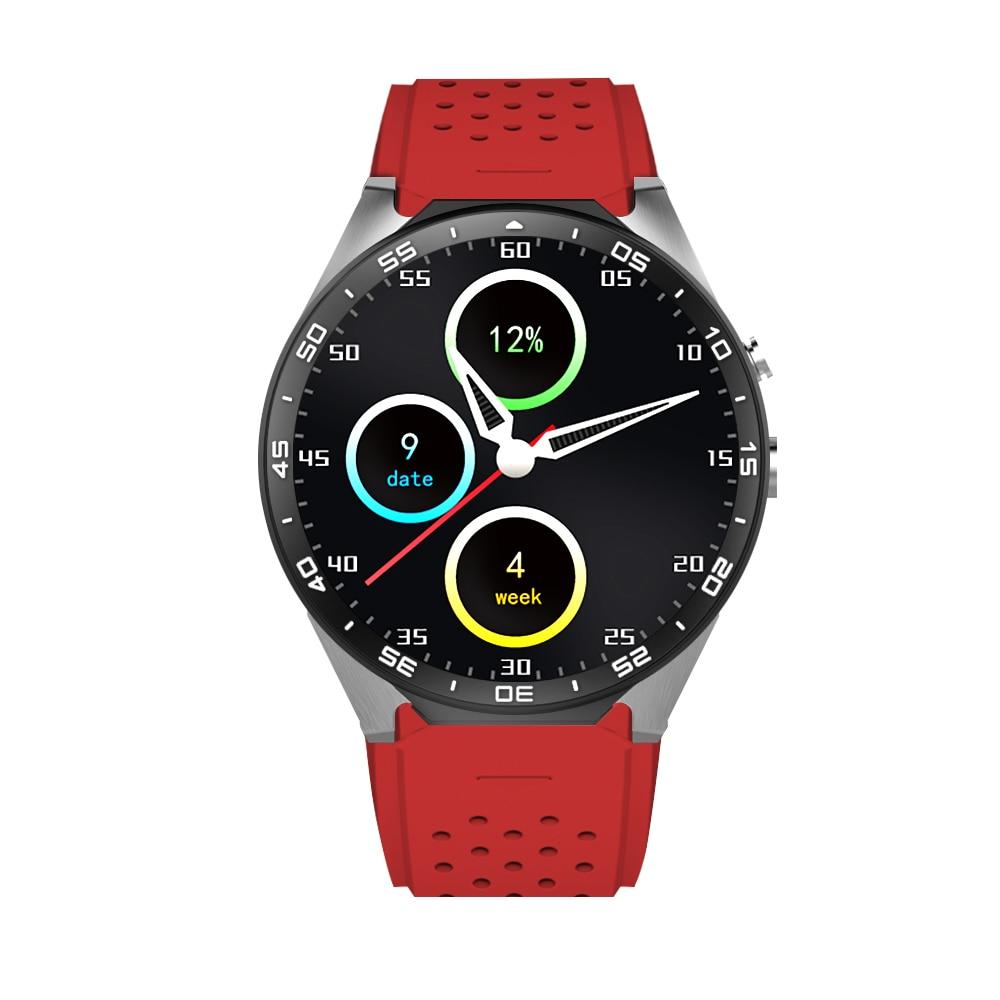 2017 KW88 MTK6580 Android 5.1 OS GPS Smart Watch 1.39 Display WiFi GPS 3G Bluetooth Sim Smartwatch phone For Android Samsung smart baby watch q60s детские часы с gps голубые
