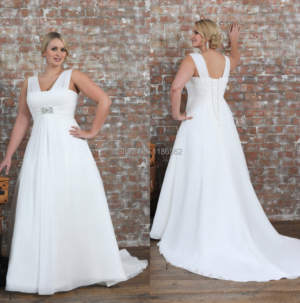 Popular Simple White Wedding Gowns-Buy Cheap Simple White Wedding ...