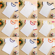 Diy 100% cotton clothing blank T-shirt printing embroidery