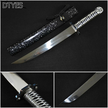 Real Japanese Katana Sword High Manganese Steel Handmade Espada Ninja Katana Espada Katana Sword Battle Ready