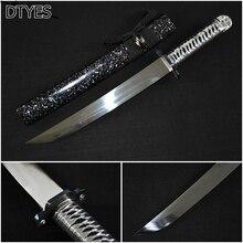 Real Japanese Katana Sword High Manganese Steel Handmade Espada Ninja Katana Espada Katana Sword Battle Ready