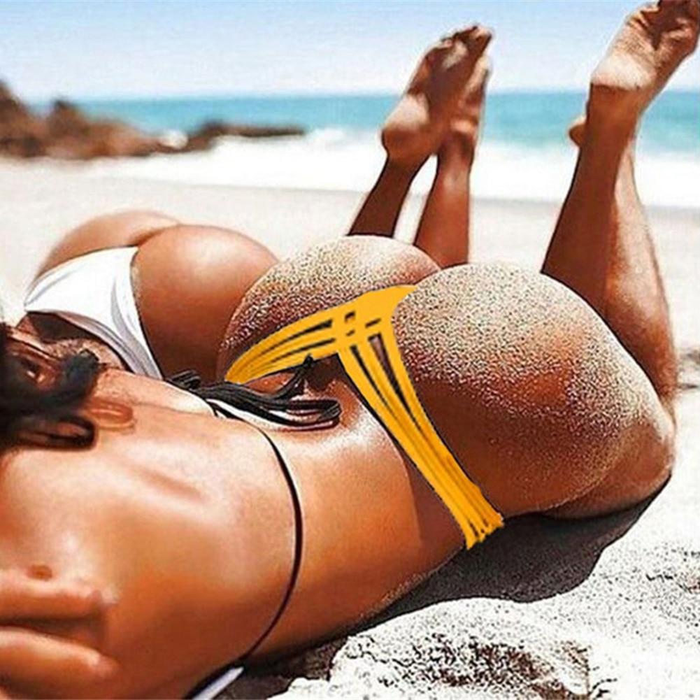 2018 New Hot Sale Black V Shape Sexy Brazilian Bikini Bottom Women Swimwear Swimsuit Trunk Tanga Micro Briefs Panties Underwear sexy mens underwear hot tanga hombre men s thong solid jockstrap gay mens g string underwear sous vetement homme sexy hot