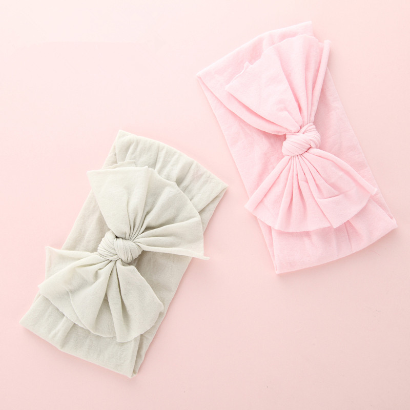 nylon bows headbands