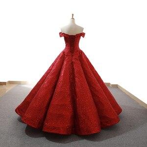 Image 2 - J66671 jancember rot party kleid bodenlangen schatz weg von schulter kleider für besondere anlässe für frauen abiti cerimonia formale