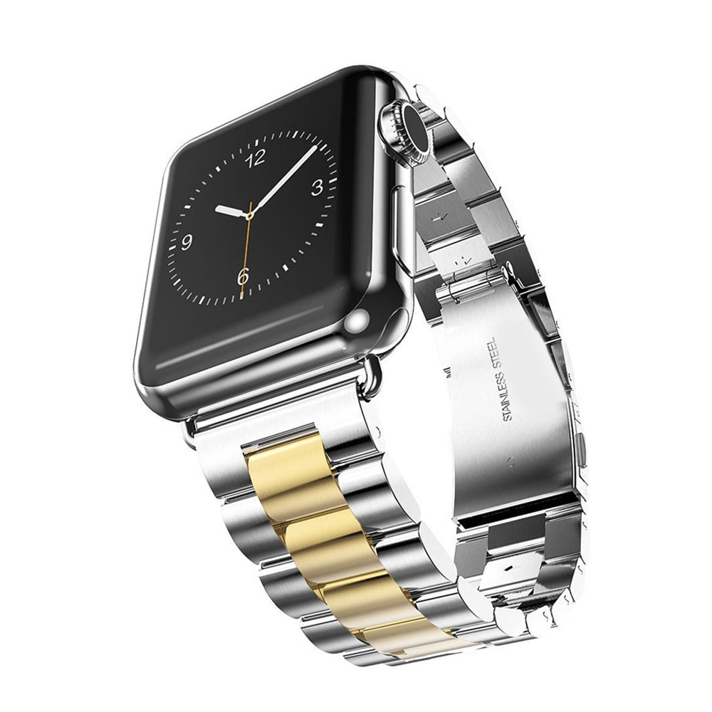 Watch Strap For Apple Watch Band 42mm 38mm Accessories Stainless Steel Bracelet Watch Wrist Strap for Apple Watch iwatch 3/2/1