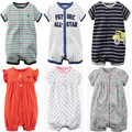 Summer  brands Newborn Baby Rompers Short Sleeve Cartoon Cotton Jumpsuits Baby Infant Baby Clothes For Girls Boys' Clothing Sets