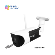 960P Bullet 1.3mp Audio Surveillance Camera outdoor SD card Motion Detect Infrared Night Vision White cam Freeshipping Hot bullet ip camera hd 720p outdoor waterproof home security metal black motion detect webcam night vision freeshipping hot sale