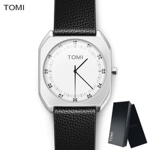 Women Watches Top Brand Simple Fashion Quartz watch men Business Casual Black Ladies watch leather ultra