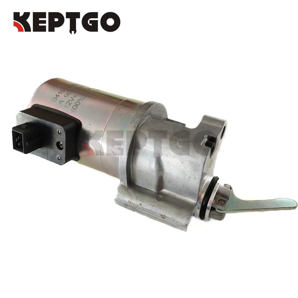 04206912 0420 6912 12V Fuel Shutdown Device shut off solenoid Fit Deutz 1013