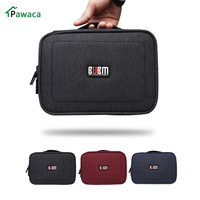 Waterproof Portable Travel USB Wires Storage Bag Phone Charger Case Electronic Cable Accessories Organizer Power Bank