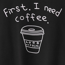 I Need Coffee Long Sleeve Sweatshirt
