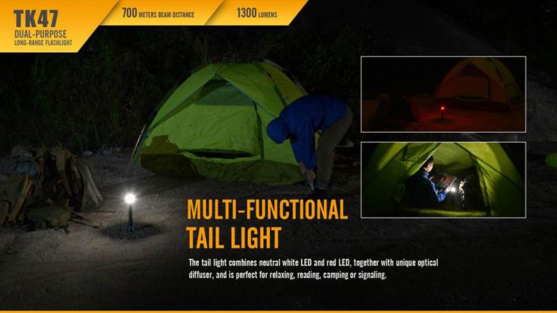 Fenix TK47 700 Meters Beam Distance Long Range Flashlight (13)
