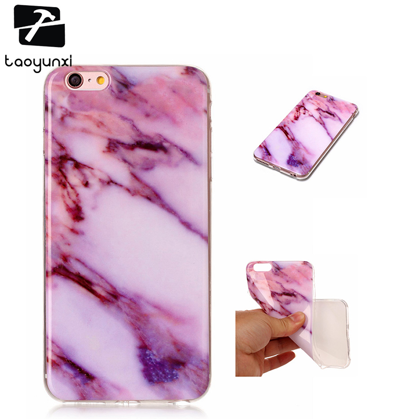 TAOYUNXI Marble Phone Cases For Apple iPhone 6 6S 66S 6G iPhone6S Case Soft TPU Silicon  ...