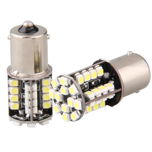 toyl 2 44 led 3528 smd lampe ampoule feux forein stop lumiere blanc 12v pour voiture in signal