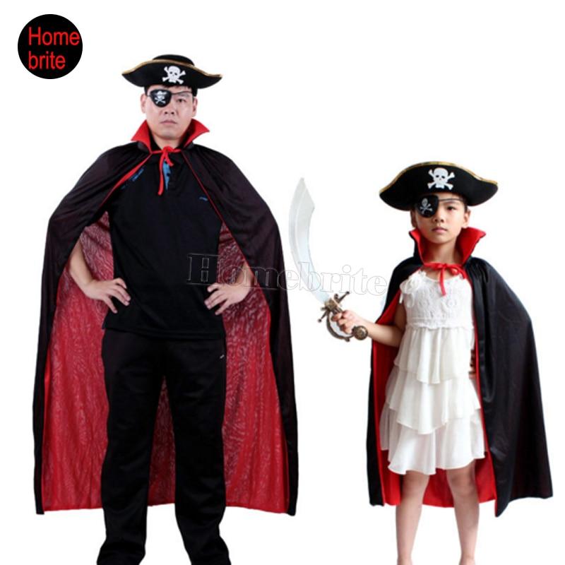 ᓂХэллоуин ведьмы воротник черный и красный плащ шляпа глаз ...