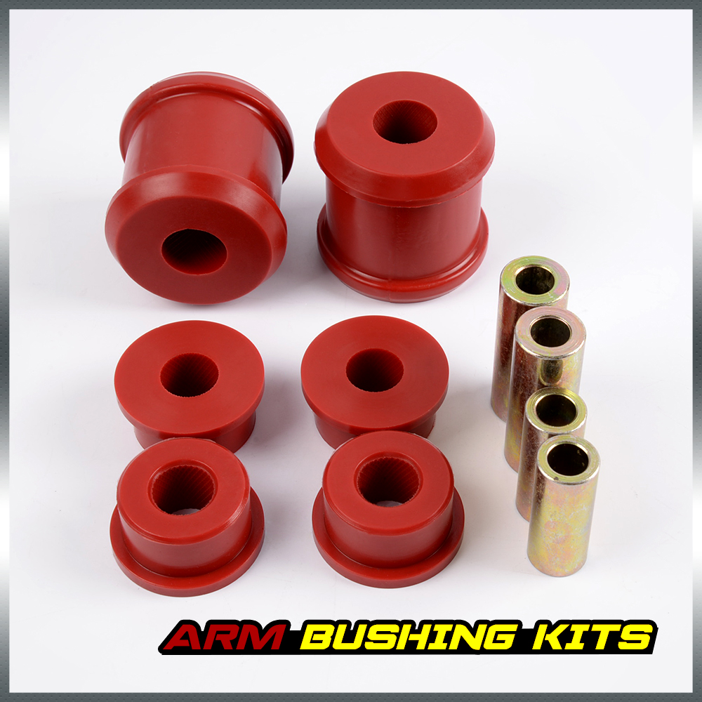 Free Shipping For Subaru WRX / Impreza 98-05 Rear Trailing Arm Bushing Insert Kit Red