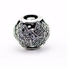 Oriental Style Silver Charm