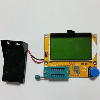 Digital LCR Mega328 V2.68 ESR-T4 Diode Triode Capacitance MOS/PNP/NPN LCR 12864 LCD Screen Tester ESR Meter Transistor Tester