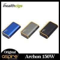 Orijinal aspire archon 150 w tc mod firmware yükseltilebilir çocuk kilidi işlevi en iyi maç cleito 120 tankı