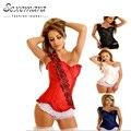HOT Sale Overbust Corselet Waste Trainer Shaper Women Sexy  Lingerie  Erotic Top Corsets Bodice Corsage Bustier Dress Bodysuit