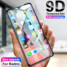 Vidrio Templado 9D para Xiaomi Redmi note 7 6 5 Pro Protector de pantalla para Redmi 6 6A 5 5A 5 Plus S2 película protectora de vidrio en note 7