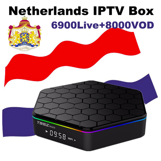 Netherlands Iptv Box T95z Plus Android Tv Box Best World Arabic