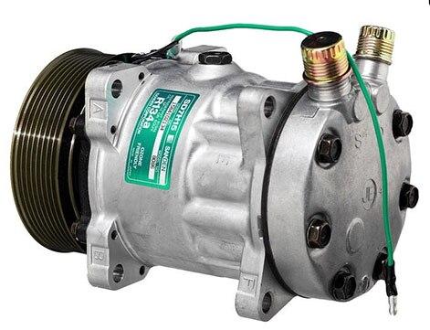 SD7H15 auto ac compressor for  Sanden 8086 - 8240  24V 8G-120mmSD7H15 auto ac compressor for  Sanden 8086 - 8240  24V 8G-120mm
