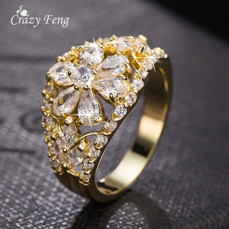 Aliexpress.com : Buy Designer Jewelry Brand Ring Crystal