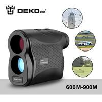 DEKOPRO Laser Rangefinder Golf Hunting Measure Telescope Digital Monocular Laser Distance Meter Speed Tester Laser Range Finder