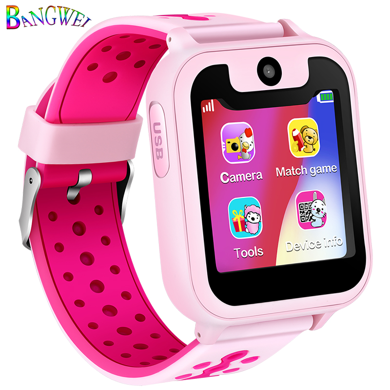 2018 New Waterproof Children Smart Watch LBS Positioning Tracker Large Capacity Environmental Protection Battery Digital Watch