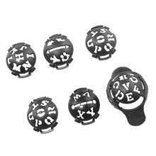 6Pcs Liner Marker Template Drawing Mark Alignment Tool For Putting Training Golf Ball