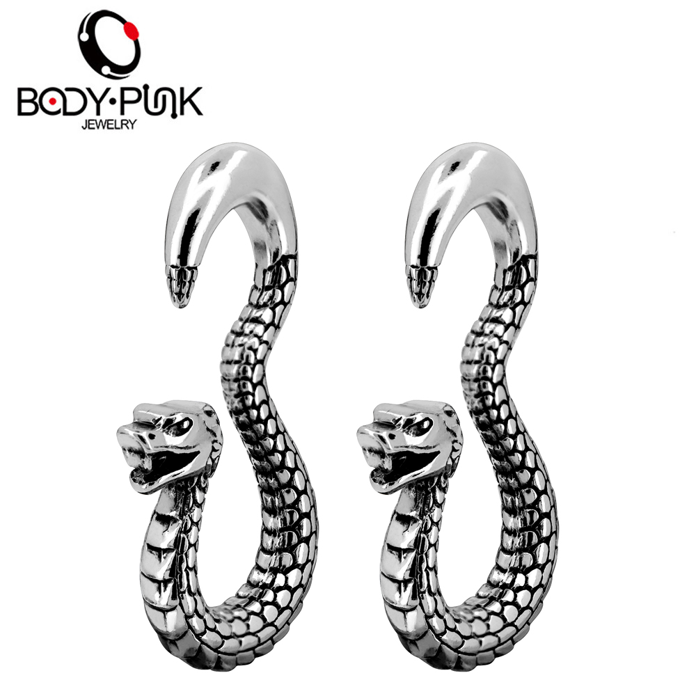 Body Punk 1 Pair Snake...