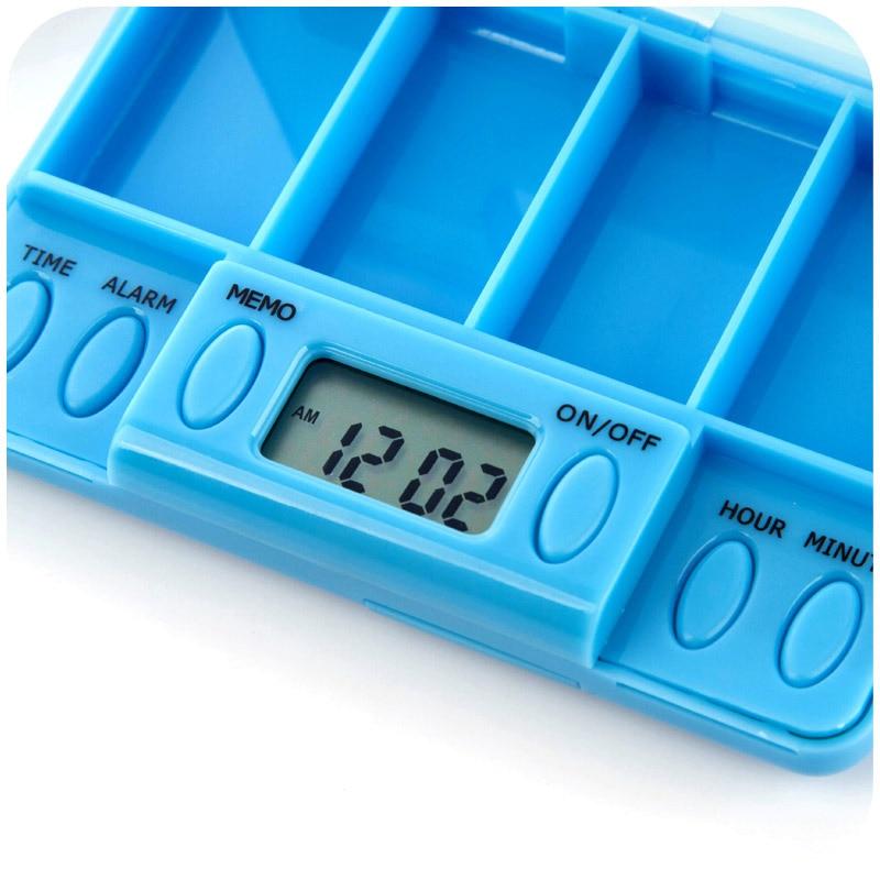 Pílula Cases e Divisores do comprimido temporizador medicação pílula Alarms : Max Conjunto 8 Alarms
