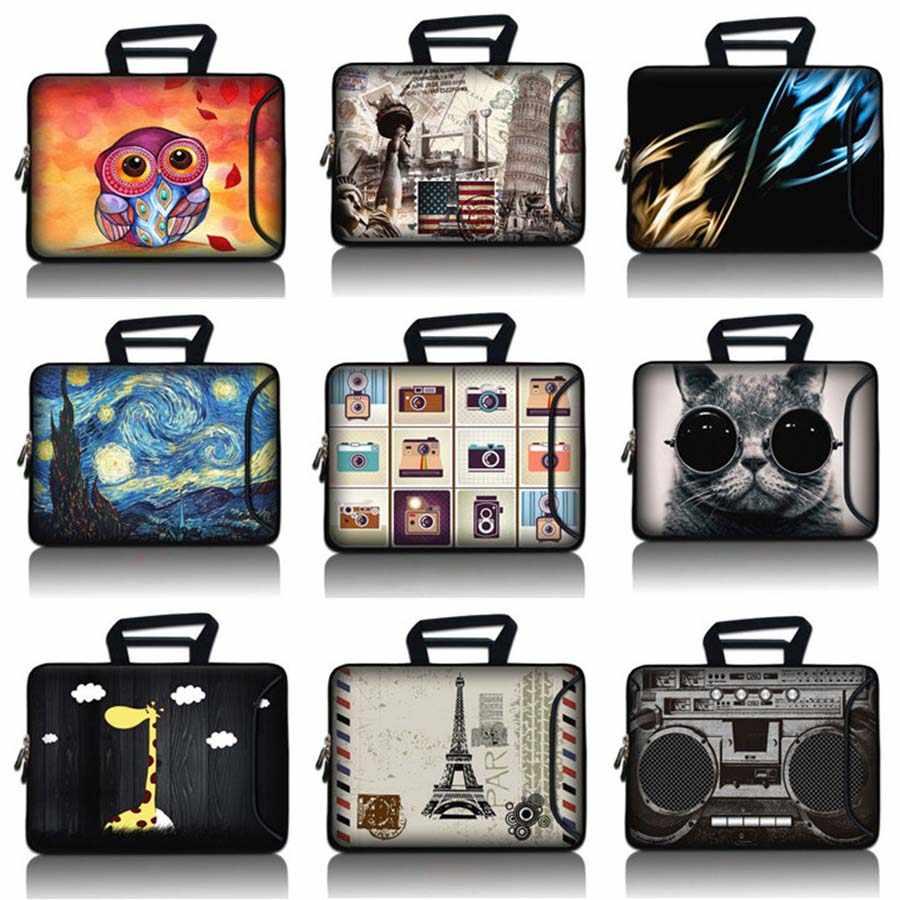 الرجال محمول حقيبة 10.1 11.6 12.1 13.3 14.1 15.6 17.3 بوصة دفتر حقيبة وحدة معالجة خارجية للحاسوب النساء يد Ultrabook غطاء SBP-3106