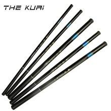 THEKUAI Superharten 37 T Ultra licht Stream Angelrute Power FRP Hand Pole Teleskop Angelrute für Karpfen Angeln