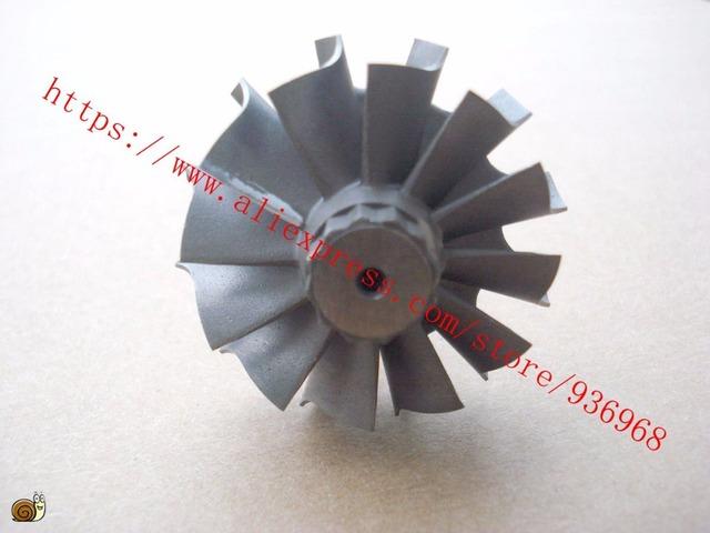 TD04L Turbina roda tamanho 41.12mm * 47.16mm, rotação Esquerda roda da turbina fornecedor por AAA Turbocharger Peças