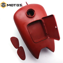 ZS MOTOS ural CJ-K750 Mortocycle Accessories 1Pcs Fuel Tank with Side Protect Rubber Cover for bmw R1,R71,M72, MW