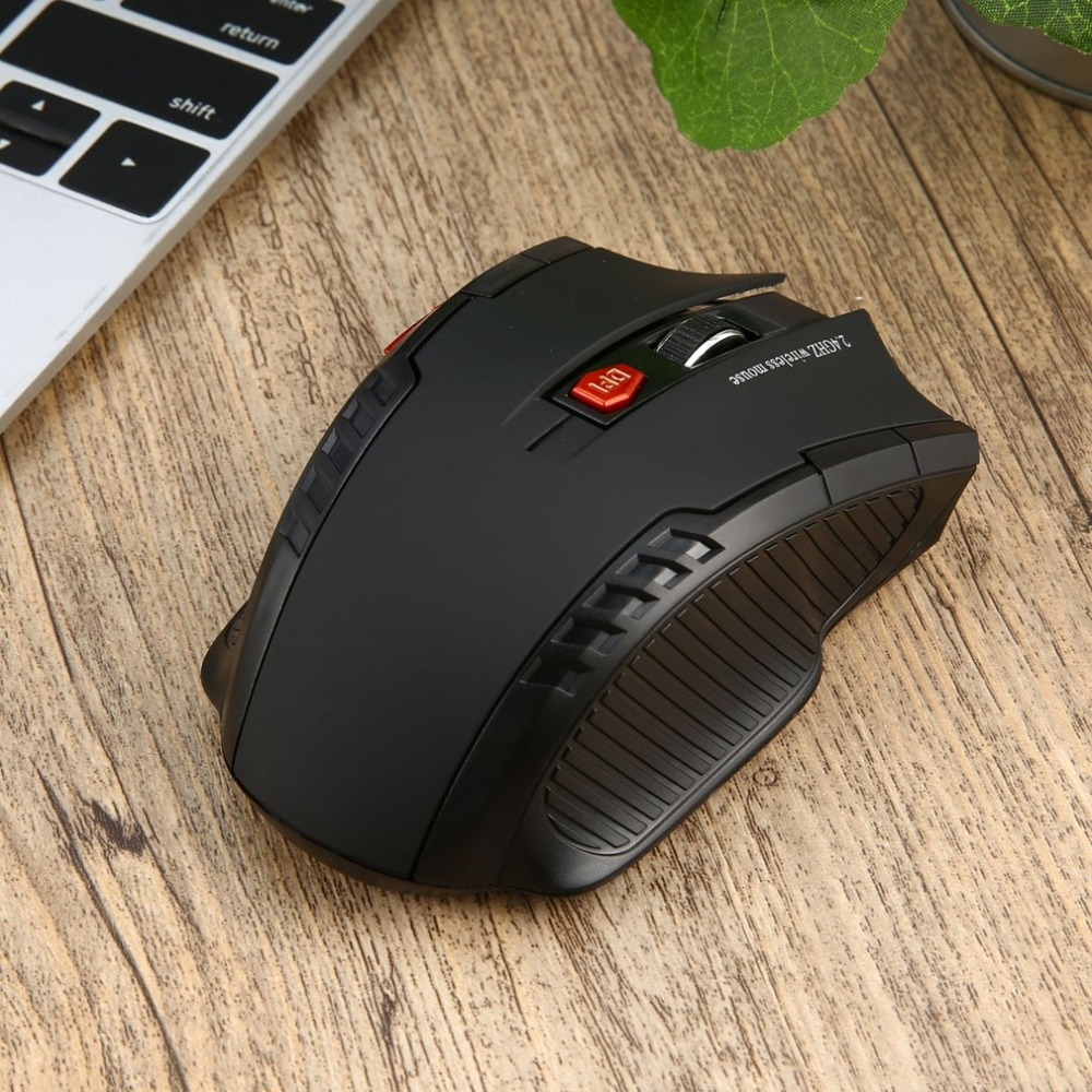 WH109 Portable 2.4GHz Wireless Optical Mouse With USB Receiver Designed For Home Office Game Playing Use Plug Play