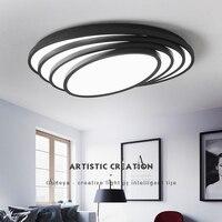 Black White Finish Modern Led Ceiling Lights For Living Room Bedroom Study Room Home Deco Ceiling