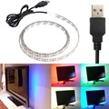 USB Power Highlight 0.5/1/2/5M DC5V 3528SMD noWaterproof RGB Backgroud Lighting LED Strip Indoor Home Decoration