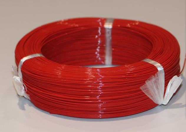 Fast Free Ship High temperature teflon wire UL1332#28AWG 200 degrees 305m/roll Teflon high temperature wire-in Electronics Stocks from Electronic Components & Supplies    1