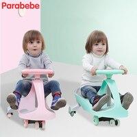 Новый ездить на игрушки покачивание автомобиля игрушки для детей легкие Детские коляски твист Go поворотный скутер детская коляска для маль