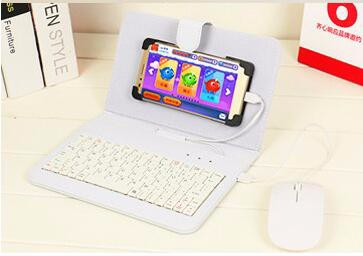 white with mouse