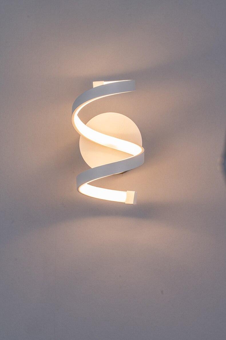 do hotel quente luz branca arandela fixado na parede luz